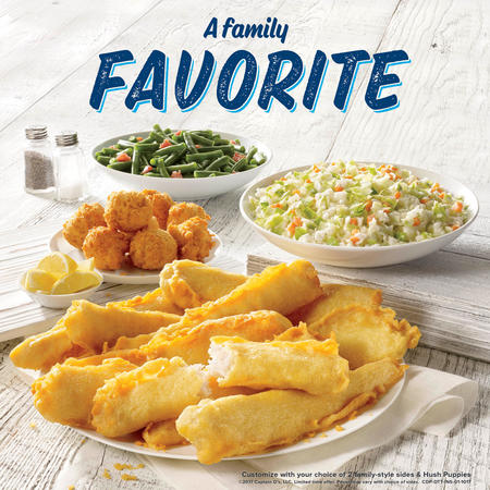 10 Piece Family Fish Meal