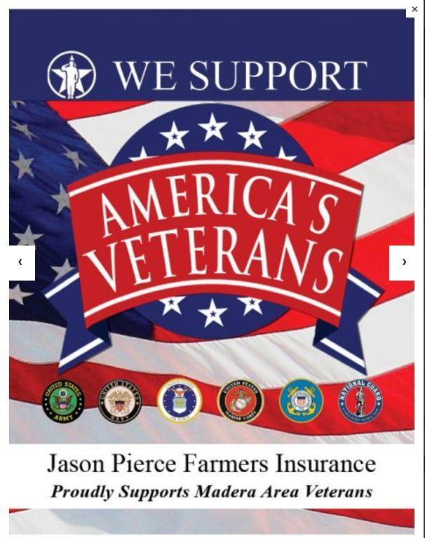 We are very proud to support America's Veterans.