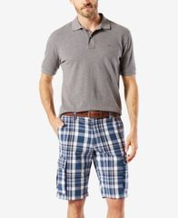"Image of Dockers Men's Stretch Classic Fit Washed Cargo 10.5"" Shorts D3"