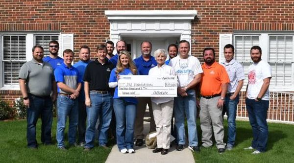 Daniel Bowling - Allstate Foundation Helping Hands Grant Helps The Jacksonville State University Foundation Inc.
