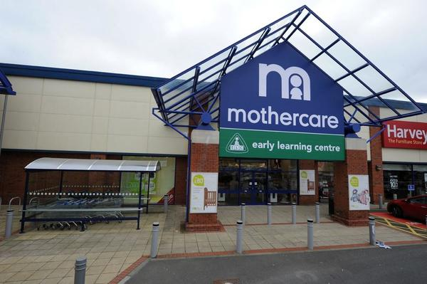 Mothercare Newry outside