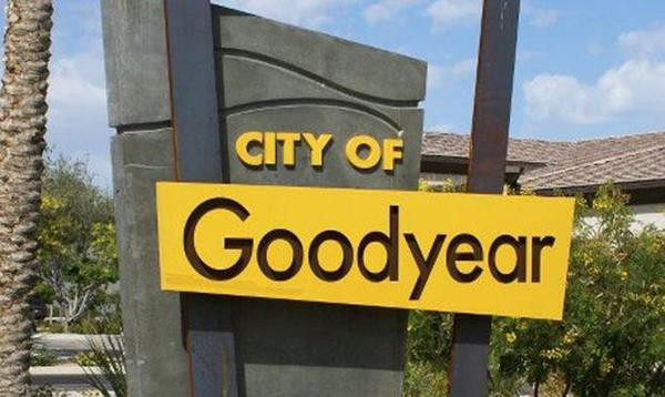 City of Goodyear  sign