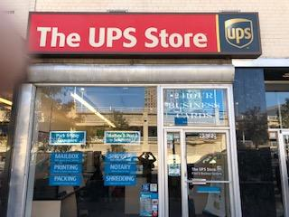 Exterior storefront image of The UPS Store #5166 in Rego Park, NY