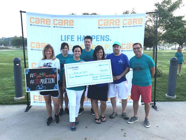 Lisa Halsey - Allstate Foundation Grant for Care of Southeastern Michigan