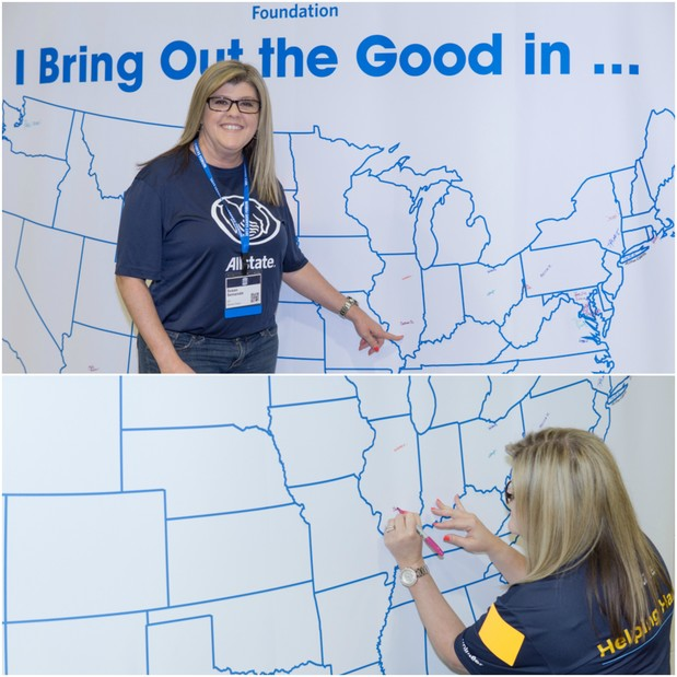 Susan Semanate - Allstate Foundation Helping Hands® Project