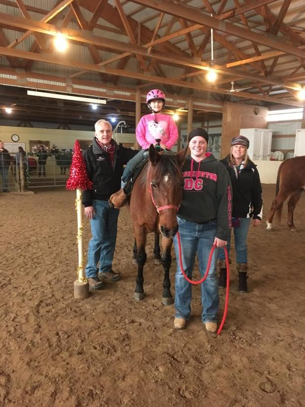 Reins of Hope<br>Therapeutic Horseback Riding Program