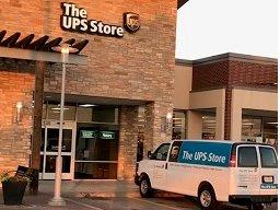 Facade of The UPS Store Mesquite