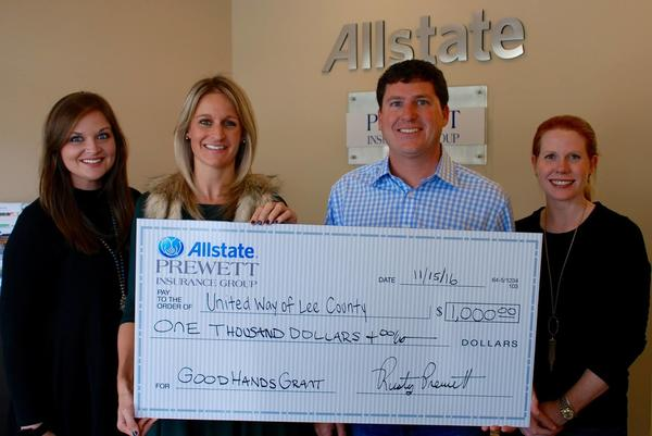 Prewett Insurance Group - United Way of Lee County