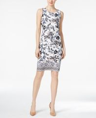 Image of Charter Club Floral-Print Dress, Created for Macy's