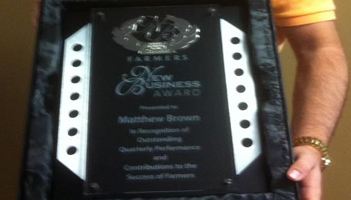 New Business Award, The Brown Agency 2012