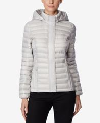Image of 32 Degrees Packable Hooded Puffer Coat