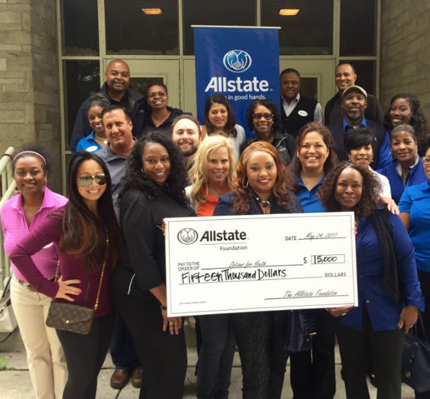 Lamont Robinson - Options for Youth Receives Allstate Foundation Helping Hands Grant