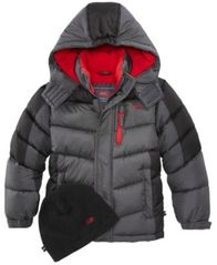 Image of CB Sports Hooded Puffer Coat, Little Boys