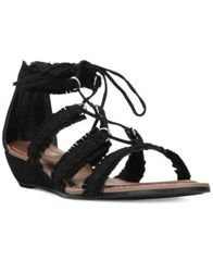 Image of Carlos By Carlos Santana Kenzie Lace-Up Gladiator Sandals