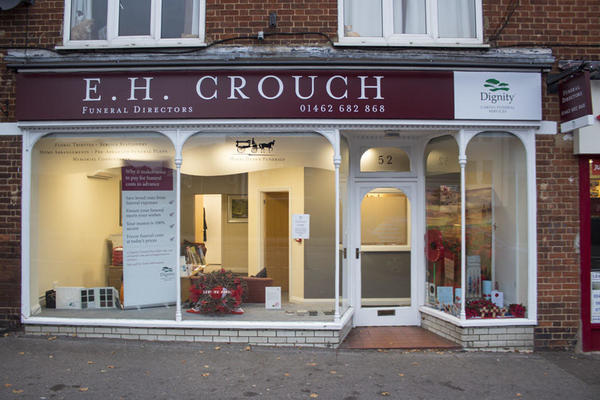 E H Crouch Funeral Directors in Letchworth.