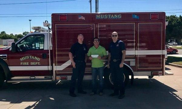 We love to support our local fire department! We appreciate all of their hard work.