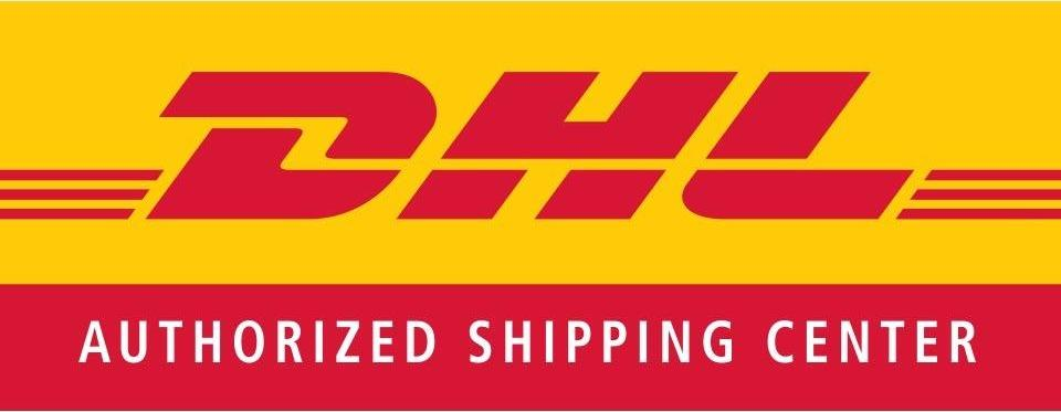 DHL Authorized Shipping Center logo