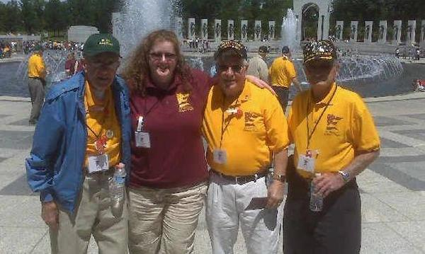 World War II Memorial - Washington D.C. Honor Flight