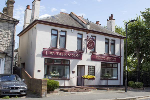 J W Tate & Son Funeral Directors in Westcliff on Sea, Southend