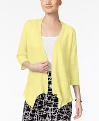 Image of Alfani Draped Cardigan, Created for Macy's