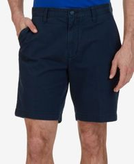 "Image of Nautica Men's 8.5"" Stretch Classic-Fit Deck Shorts"