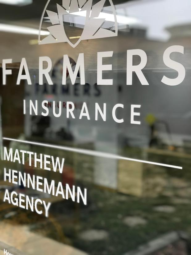 Matthew Hennemann Agency sign