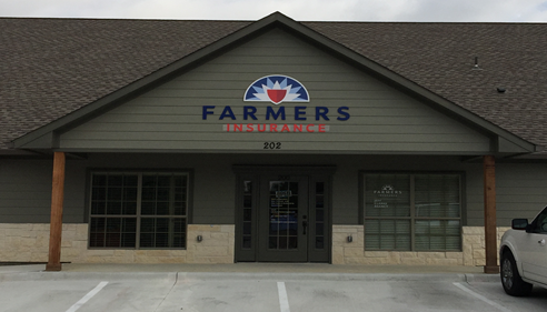Storefront of Jeffrey Clarke Farmers Office