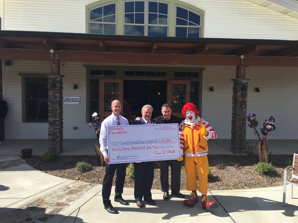 Michael Holt - Allstate Foundation Helping Hands Grant for Ronald McDonald House