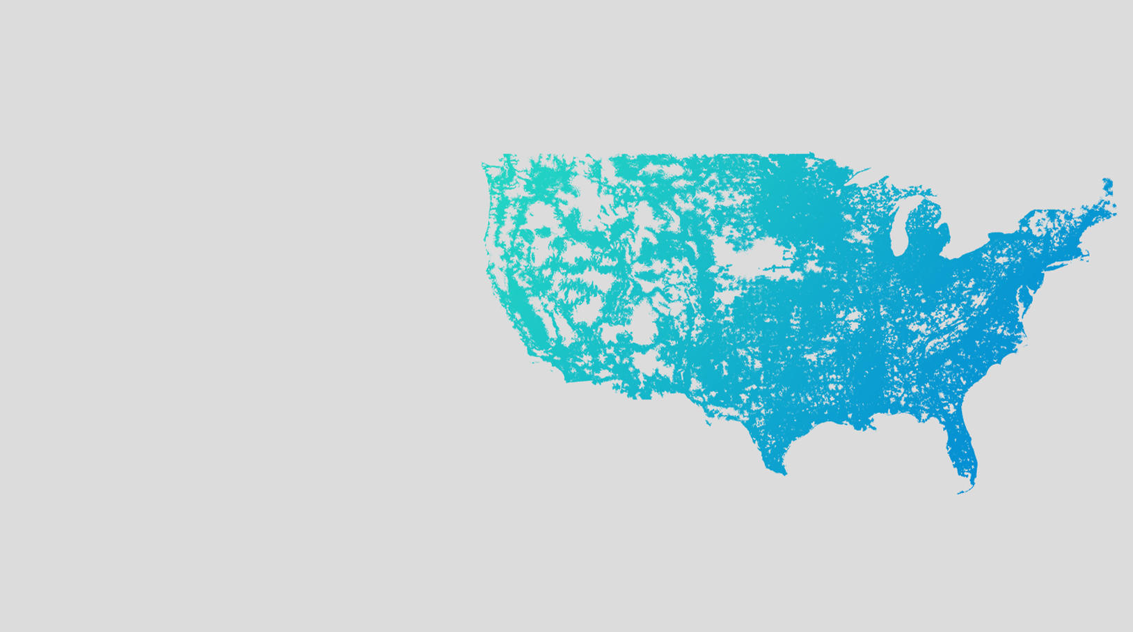 Coverage map of Altice mobile cellular service in the united states