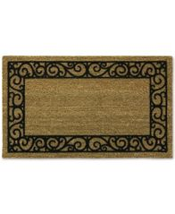 "Image of Bacova French Quarters 20"" x 30"" Flocked Doormat"
