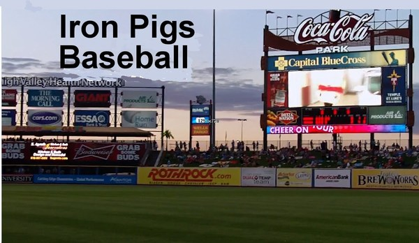 Proud Partner of Lehigh Valley IronPigs