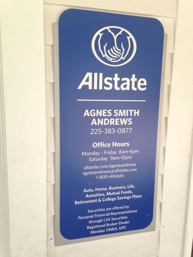 Allstate Car Insurance In Baton Rouge LA Agnes Andrews Unique Allstate Term Life Insurance Quote