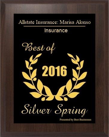 Marisa Alonso - Alonso Insurance Agency Recognized as Best of 2016