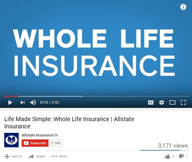 Lori Call - Life Made Simple: Whole Life Insurance | Allstate Insurance Video