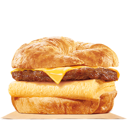 Sausage, Egg and Cheese Croissan'wich Image