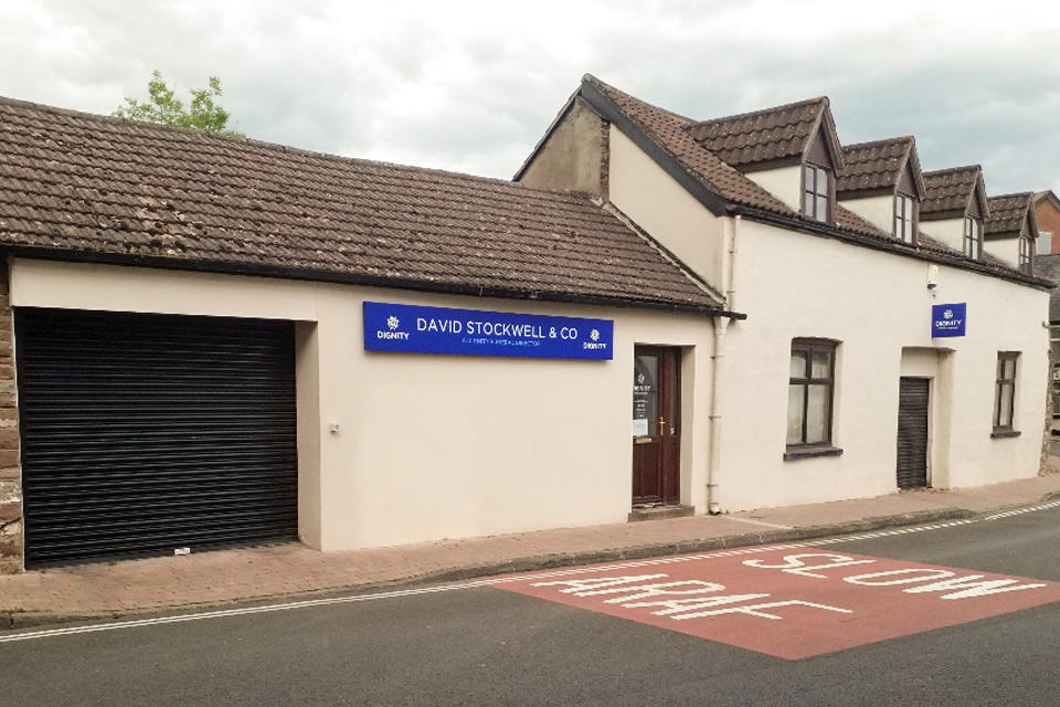 David Stockwell & Co Funeral Directors in Monmouth, Monmouthshire.