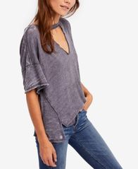 Image of Free People Jordan Cutout T-Shirt