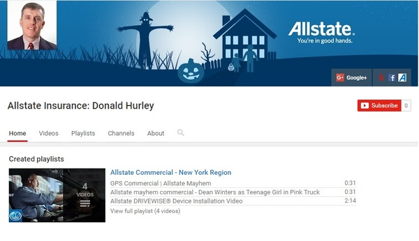 Donald Hurley - Donald Hurley YouTube Channel