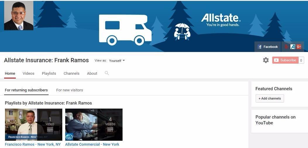 Allstate   Car Insurance in New York, NY - Frank Ramos