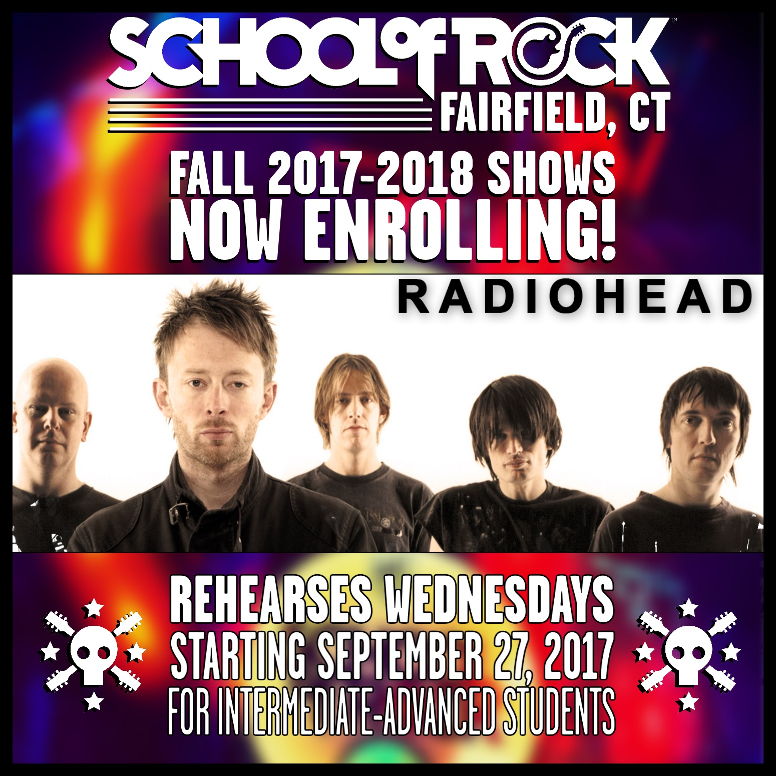 Image of FALL 2017-2018 SHOW #2: RADIOHEAD
