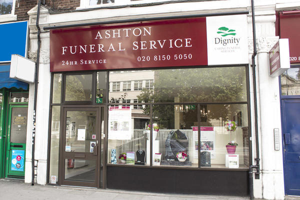 Ashton Funeral Directors in Balham High Road, Balham