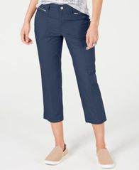 Image of Style & Co Petite Cuffed Capri Pants, Created for Macy's