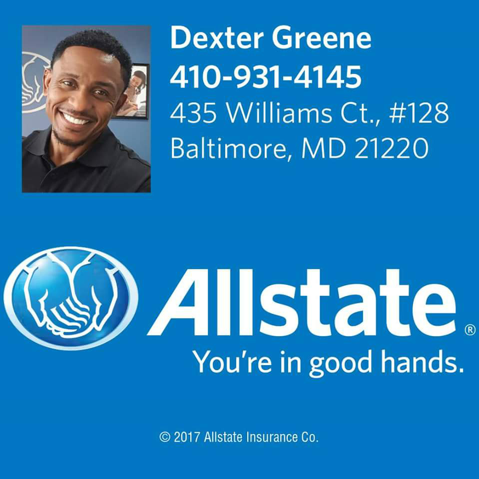 Allstate Insurance Quote: Car Insurance In Baltimore, MD - Dexter Greene