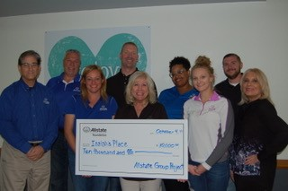 Schindler Agency LLC - Isaiah's Place Receives Allstate Foundation Helping Hands Grant