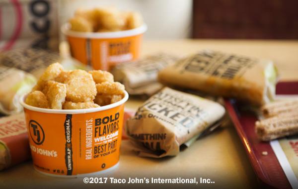 Taco John's 233 East Frazee Street | Tacos, Burritos, Potato Olés