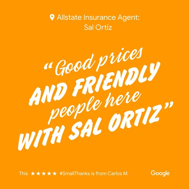 Sal Ortiz - Small Thanks with Google