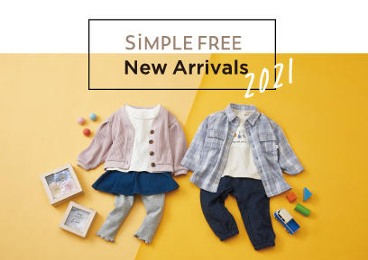 【1/1-1/31】SiMPLE FREE New Arrivals2021