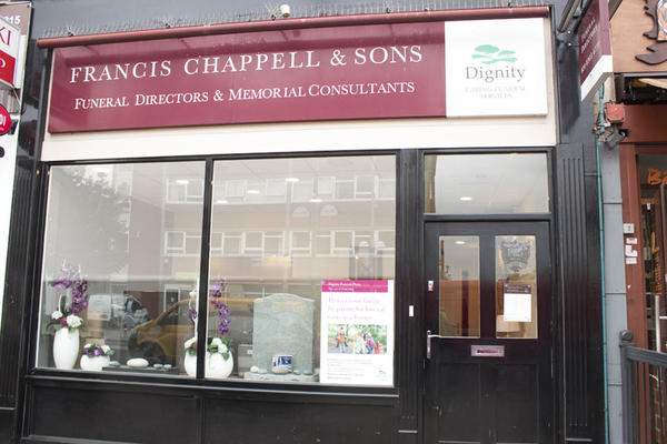 Francis Chappell & Sons Funeral Directors in Bexleyheath