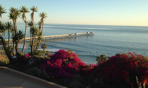 View of San Clemente Coast