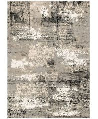 "Image of Fusion Grey 3'10"" x 5'7"" Area Rug"